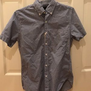 New With Tags J. Crew Short Sleeve Button down